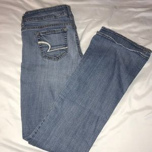 AE Low Rise Bootcut Jeans